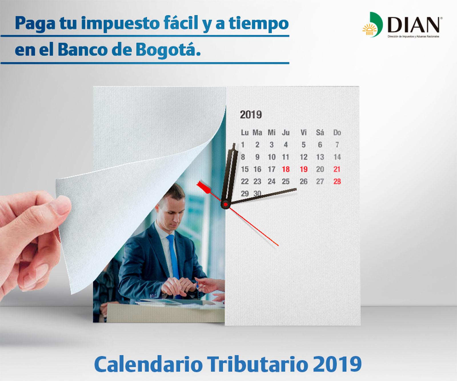Calendario Tributario Banco De Bogota