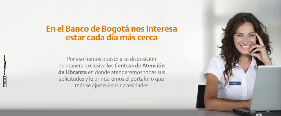 Banco de bogot cr ditos de libranza for Banco de bogota